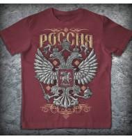 Футболка «Россия. Каменный герб»