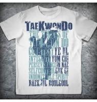 Футболка «Тхэквондо. Принципы»