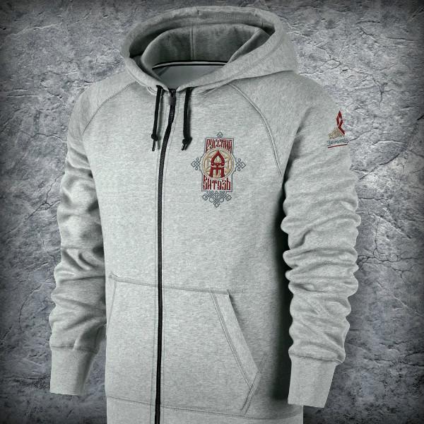 Спортивный костюм «Русский Витязь» , Цвет Меланж, Размер XL от Земля воинов