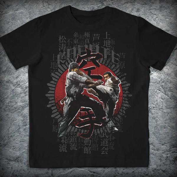 Спортивная футболка «Каратэ», Цвет Черный, Размер M от Земля воинов